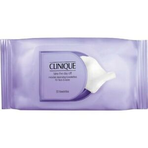 Clinique Take The Day Off Micellar Cleansing Towelettes For Face & Eyes 50 Wipes