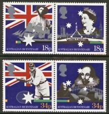 Gb Mnh Scott 1222-1225, 1988 Australia Bicentennial, set of 4