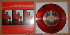 """White Stripes Hand Springs 7"""" Red Black Swirl Third Man Records Vinyl Jack Meg"""