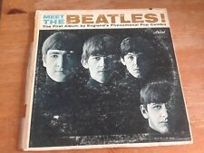 MEET THE BEATLES! - Vintage vinyl LP album Capital T 2047 Mono record