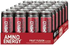 (4,15 EUR / Liter) Optimum Nutrition Amino Energy Drink - 24x330ml Dose