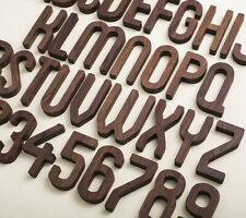 Wood Numbers for House Door Address Signs