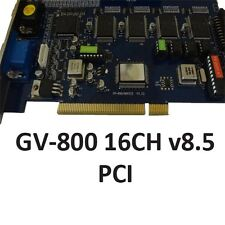 Geovision Surveillance GV 800 GV-800 DVR Capture Card PCI v8.5 16CH USED*
