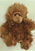 "THE PUPPET COMPANY ORANGUTAN 12"" HAND PUPPET SOFT TOY PLUSH COMFORTER HAND WASH"