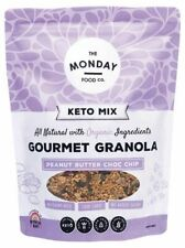 The Monday Food Co Keto Gourmet Granola Peanut Butter Chocolate Chip 800g Other