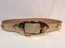 Belts By Simon Womens Genuine Leather Belt Size 31""