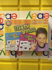 Math Bingo, Learning & Education Flash Cards Game, Kids Educational Play Toy *