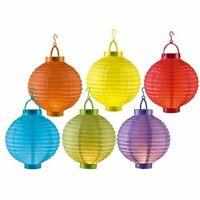 Laterne Über Papier 1 LED Mit Durchmesser 20 CM - Verschiedene Farben