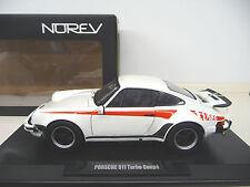 Norev 1:18 Porsche 911 930 3.0 Turbo white signed turbo SHIPPING FREE WORLDWIDE