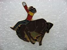 horse collector pin  (Cowboy riding the horse)  Nice gift item New!!