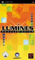 Lumines Puzzle Fusion PSP Sony Portable Playstation Gaming