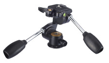 Victory Panoramic Three-Dimensional Tripod Video Head  With Quick Release Plate