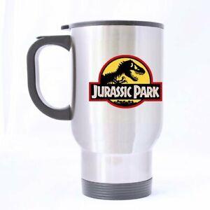 Jurassic Park Dinosaur Customized Personalized Travel Mug  Coffee Mugs
