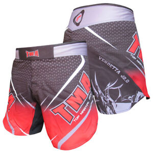 TMA MMA Stretch Shorts Clothing Training Cage Fighting Grappling Martial Art