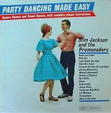 SLIM JACKSON & PROMENADERS - PARTY DANCING - EPIC LP - YELLOW LABEL