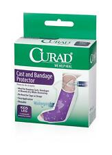 cast and bandage protector.wounds dry while showering. kids leg.2 each