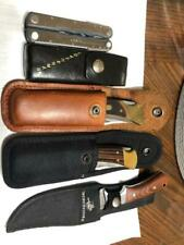 Buck Leatherman Fuse and Super Tool Winchester Scrade Old Timer