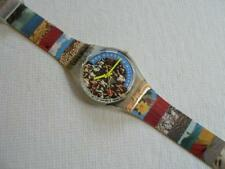Swatch Watch 'The People' Swiss Made Wristwatch 1992 GZ126