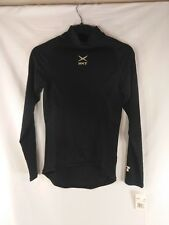 Russell Black Dri Power Stretch Fit Athletic Shirt Youth Large