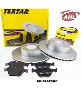 TEXTAR 92132503+ 2391401 disque de frein + plaquettes de frein ARRIERE AUDI A6