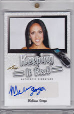 2014 Leaf Pop Century Signatures - Melissa Gorga Autograph Auto Keeping it Real