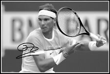 Rafael Nadal, Autographed, Cotton Canvas Image. Limited Edition (RN-416)x