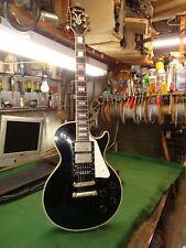 Vintage 1976 Ibanez 2341 Custom Les Paul Black Beauty Guitar w/Case Post Lawsuit