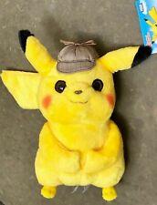 "Pokémon Detective Pikachu 10"" Plush Toy - Soft Stuffed Doll - SPECIAL SALE!"