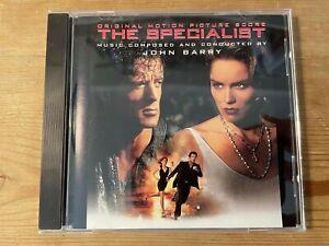 THE SPECIALIST (John Barry) OOP 1994 Epic Soundtrax Score Soundtrack CD EX