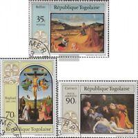 Togo 1641-1643 (kompl.Ausg.) gestempelt 1983 Ostern: Gemälde