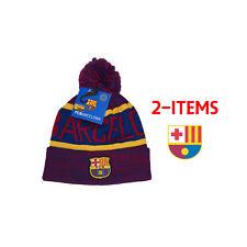 0b2826d90ec Fc Barcelona Beanie + Sticker Winter Skull Cap Lionel Messi 10 fcb3