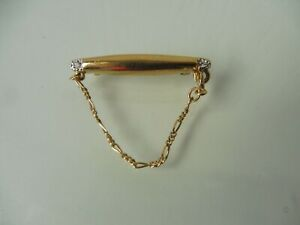 Beautiful Small Pin/Brooch Gold Plated, Pierre Lang