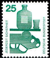 697 A postfrisch BRD Bund Deutschland Briefmarke Jahrgang 1971