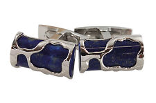 Visconti Art Lapis Lazuli and sterling silver Cufflinks