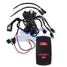 Light Bar Red Switch Polaris RZR Wire XP900 800 Crew XP1000 Ranger Side by UTV X