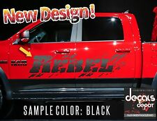 2X Distressed Mud Decal Door Bed Fits RAM Chevy Silverado Ford F150 Tundra GMC
