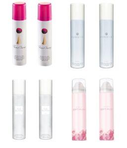 2x Avon Perfumed Body Spray for her - Soft Musk, Far Away, Perceive, Pur Blanca