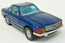 Corgi #393 MERCEDES BENZ 350 SL blue Whizzwheels diecast