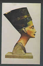 1976 PPC* Colored Bust Of Queen Nefertiti On Tour In USA Was Mother See Info