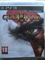PS3 God of War III 1ª Edicion Nuevo Precintado Pal España