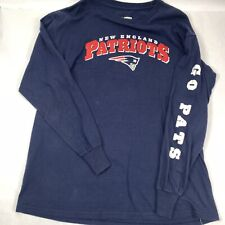 NFL Pro Line Mens Size Large NFL New England Patriots Long Sleeve T Shirt