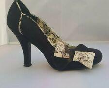 Ruby Shoo black white bow high heel shoes 4