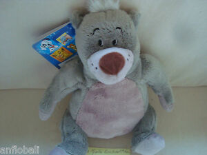 Plush Toy Comforter Balloo Of Book La Jungle 27 CM Seated Baloo New disney