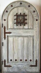 Rustic reclaimed solid Doug Fir door speakeasy you choose dimension storybook