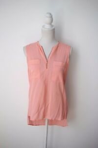 Ginger and Smart: Secret Vice Tank Top in Silk Crepe, Size 6