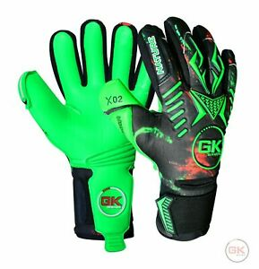 GK Saver Modesty X02 Nature Professional Football Goalkeeper Gloves size 6 - 11