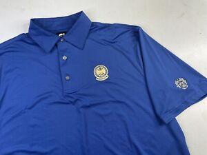 FJ FootJoy Short Sleeve Golf Polo Shirt Men's XXL PGA Trump National