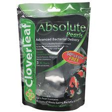 Cloverleaf Absolute Pearls XL Balls Filter Bateria Boost Ammonia Nitrite Removal