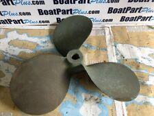 "Vintage Columbian 3 Blade Bronze LH Propeller 26 x 28 - 1 3/4"" Bore"