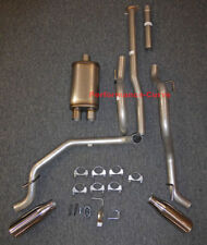 """13 - 15 Toyota Tacoma Cat-back Dual Exhaust Side Exit - w/ MaxFlow 14"""" Body"""